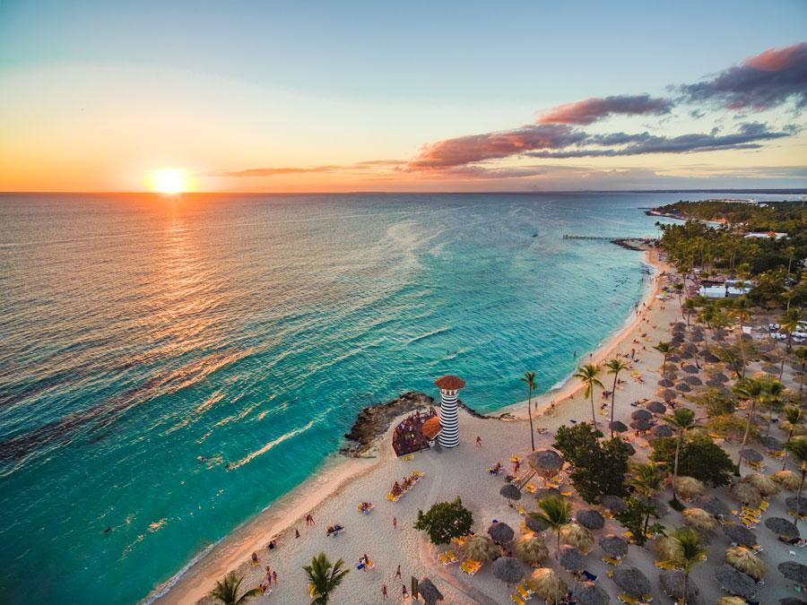 Navidad en la Rep. Dominicana Playa-Dominicus, Bayahibe, La Romana