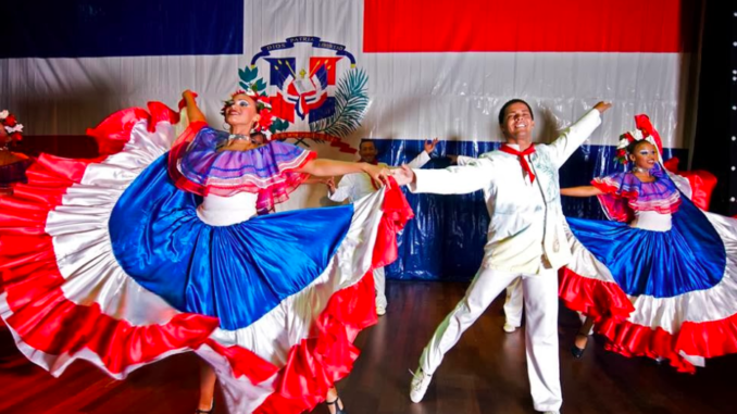 Merengue para festejar la Navidad de la Rep. Dominicana