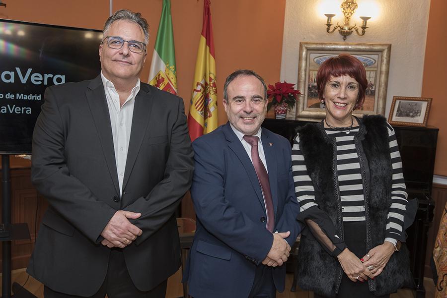 Quintín Correas, Francisco Martín y Lola Paniagua