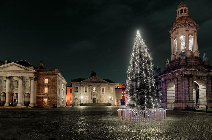 Navidad en Irlanda Dublín