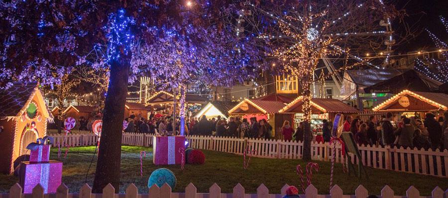 Navidad en Irlanda Eyre-Square