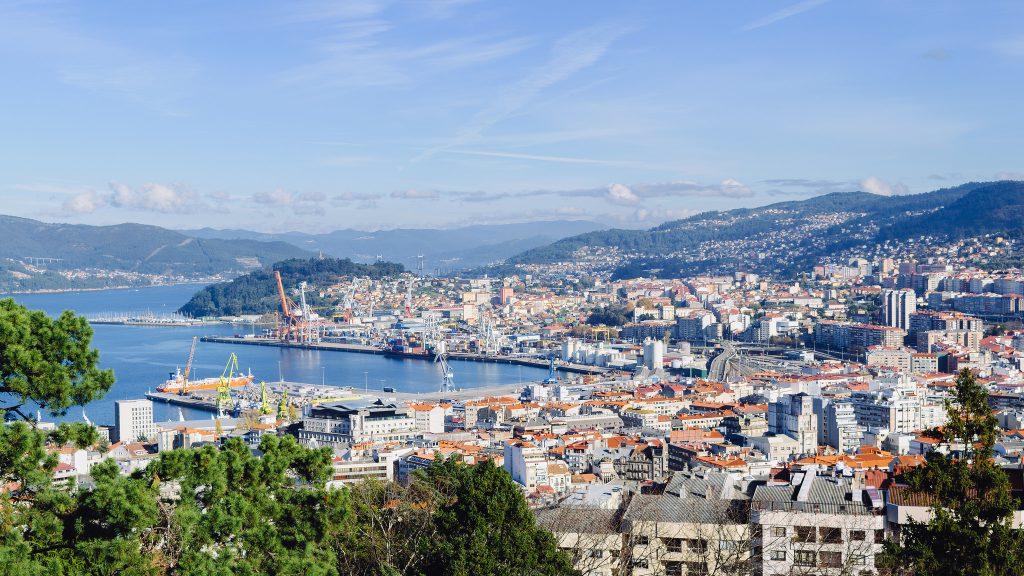 Vista de Vigo Viajar con Mascotas