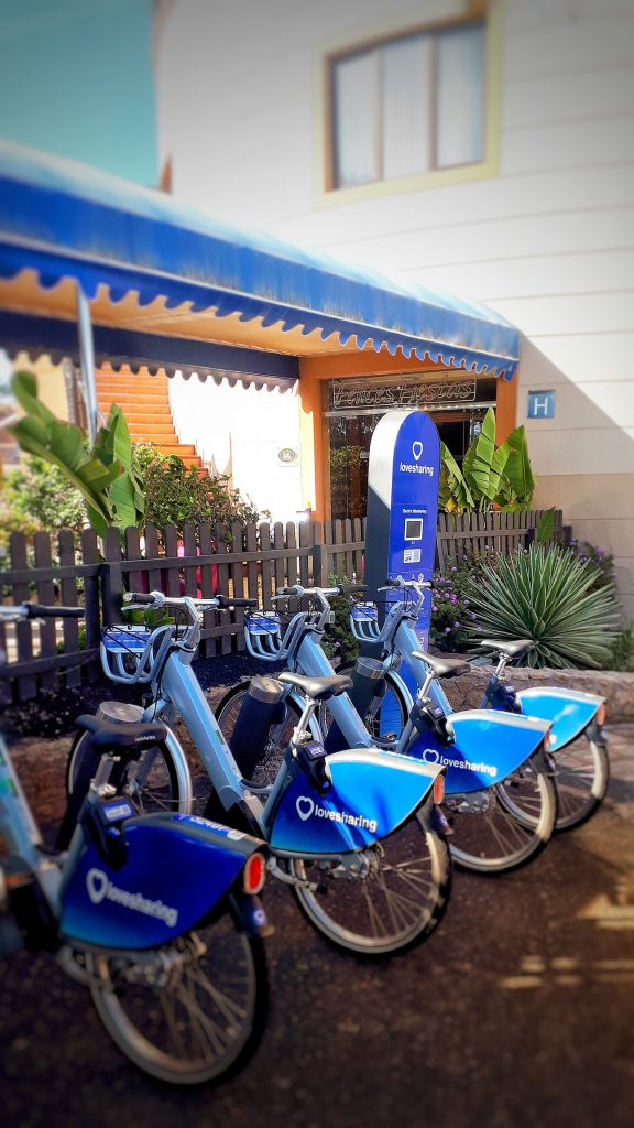 Hotel Elba Lucía ebikes