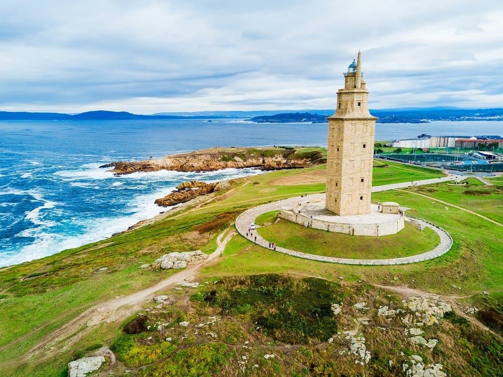 La Torre de Hercules en A Coruña
