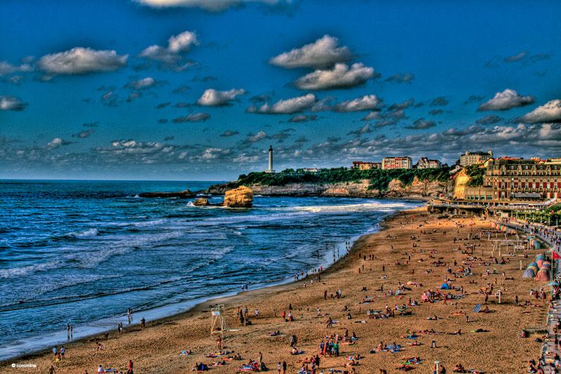 Biarritz La Grand Plage