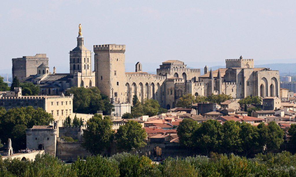Avignon Palacio de los Papas