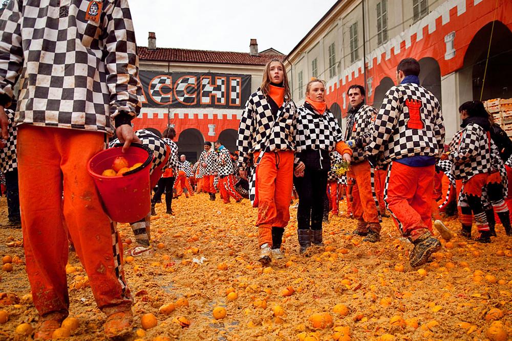 El Carnaval de Ivrea
