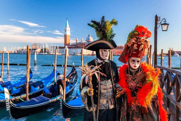 El Carnaval en italia Venecia, Véneto