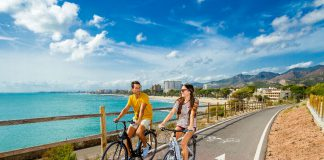 Benicasim Vía Verde en bicicleta