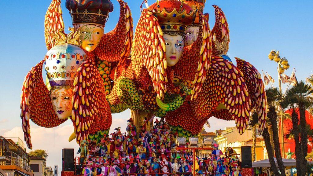 El Carnaval de Viareggio, Toscana
