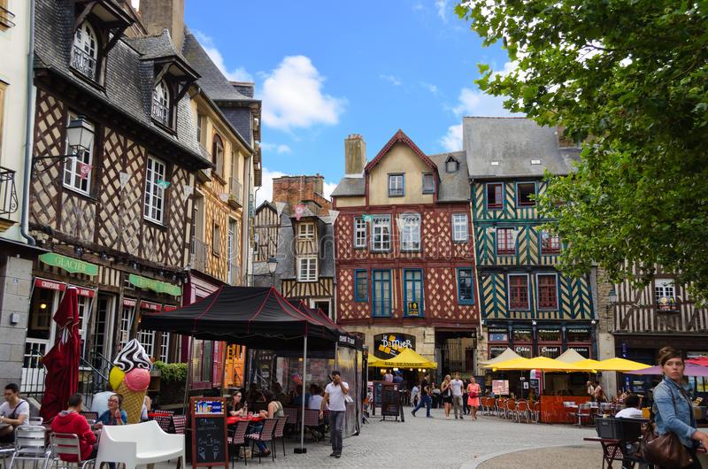Centro historico de Rennes