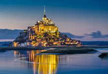 Normandia Mont Saint Michel
