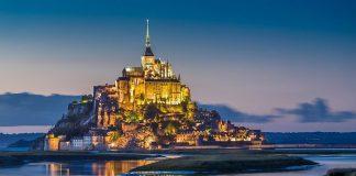 Normandia Mont Saint Michel