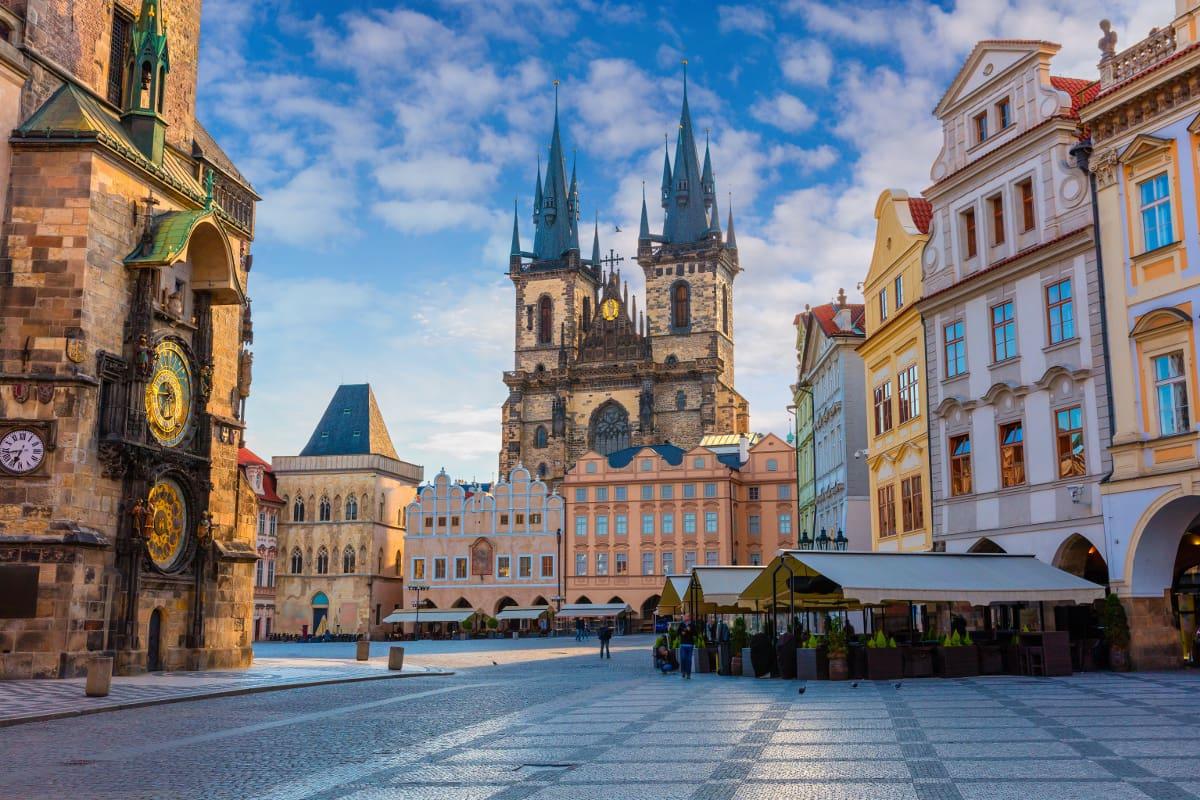 República Checa, Praga plaza-ciudad-vieja