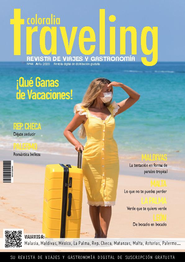 Portada revista Traveling Nº44