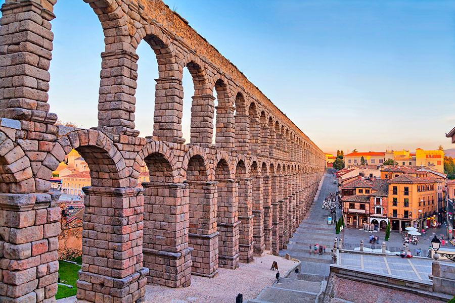 7 maravillas españa Acueducto de Segovia