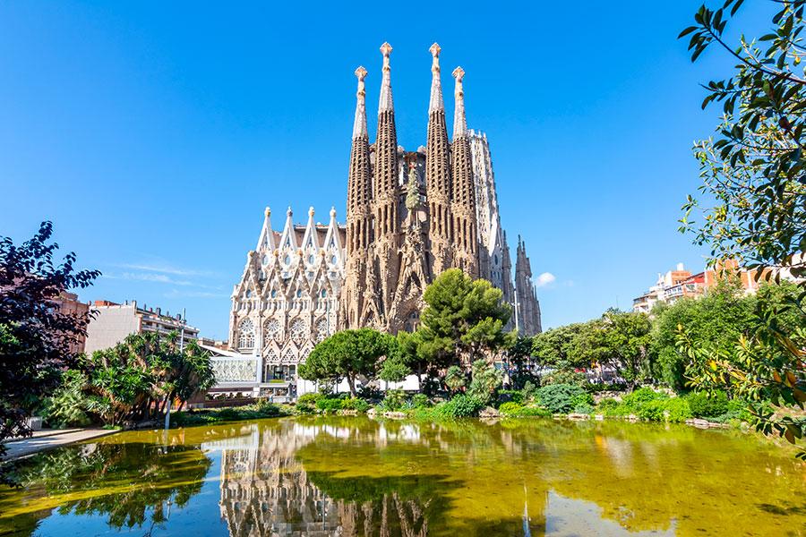 7 Maravillas de España La Sagrada Familia de Barcelona