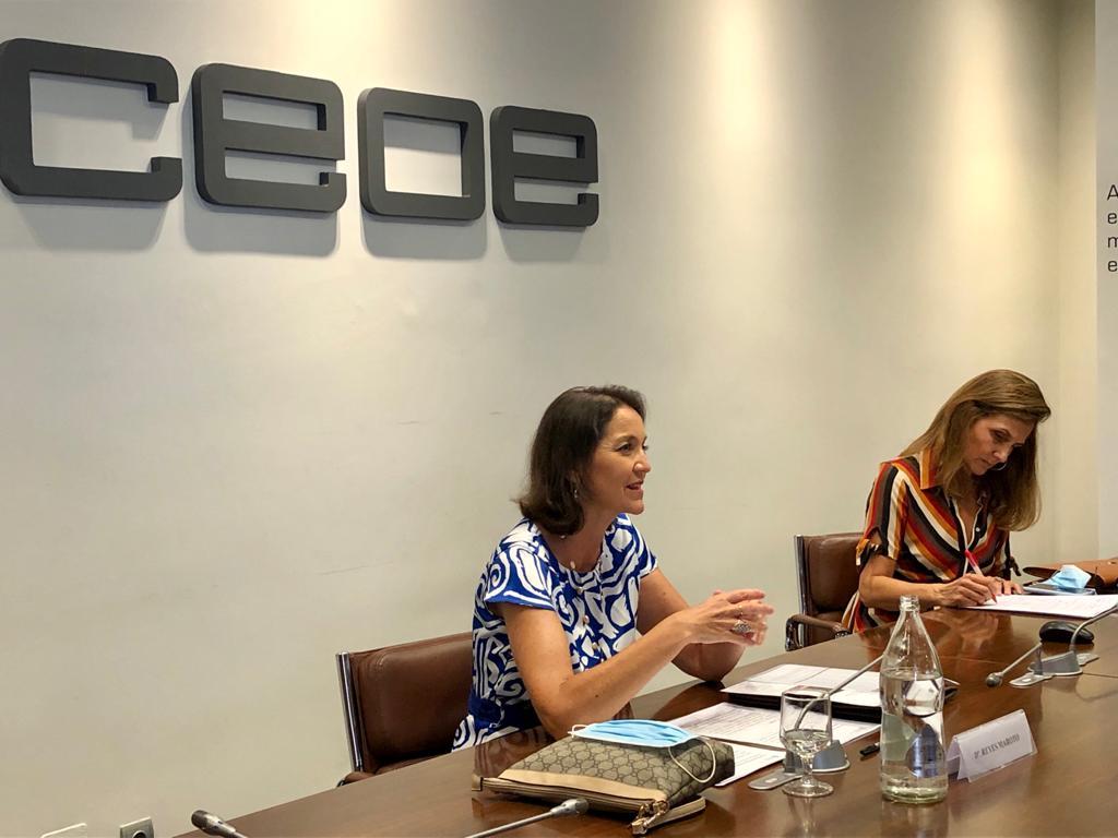 Reyes Maroto Consejo turismo CEOE