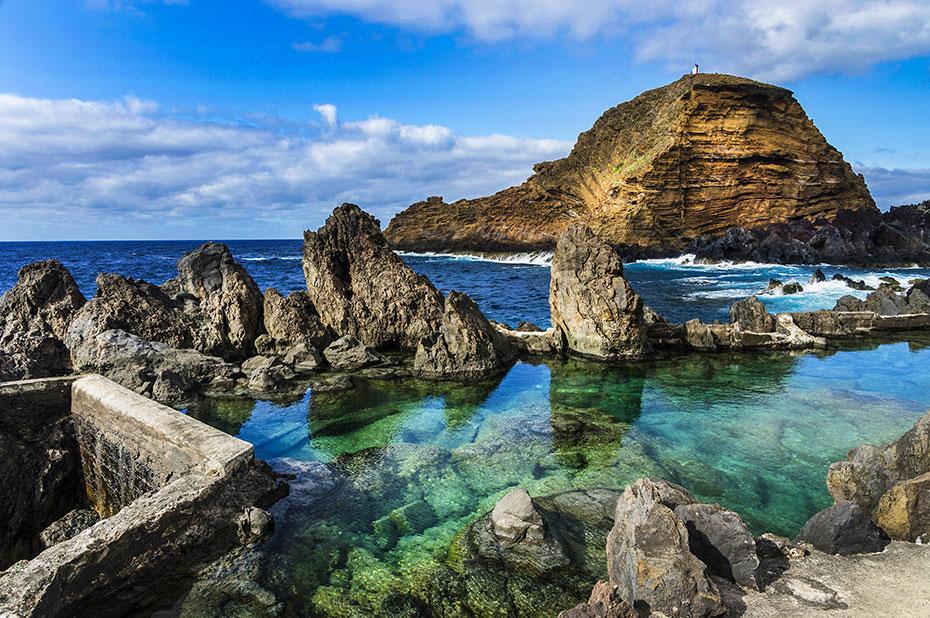 Piscinas naturales en Madeira