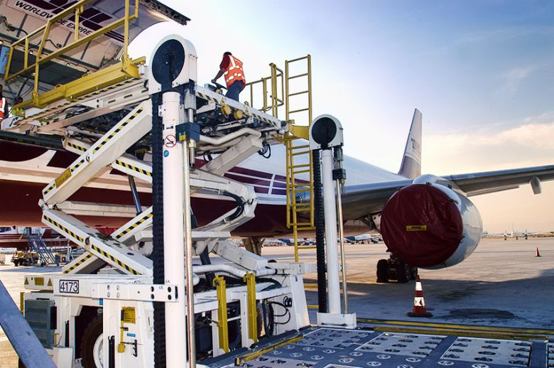 carga aerea aeropuertos de AENA