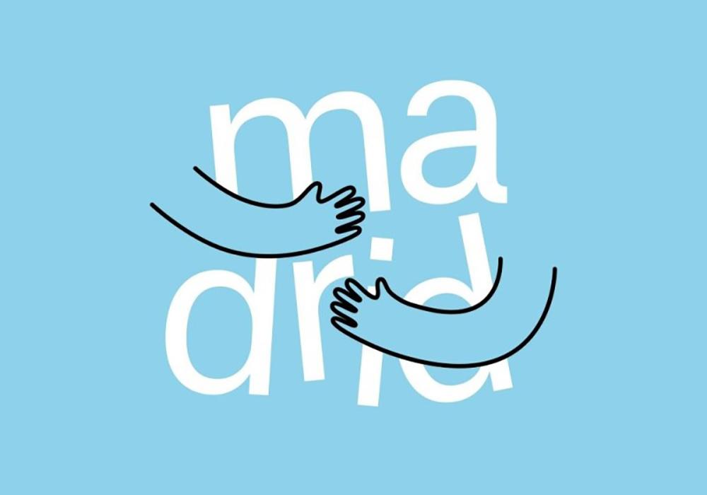 Logo Madrid te abraza