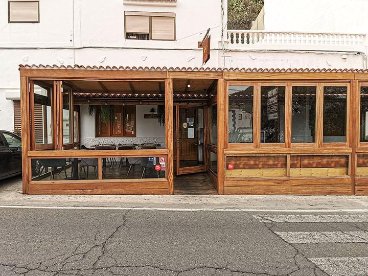 Fachada del restaurante Texeda