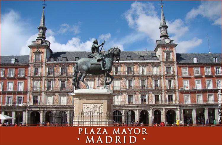 Postal de la Plaza Mayor