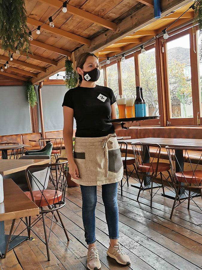 Andrea Arias, Restaurante Texeda