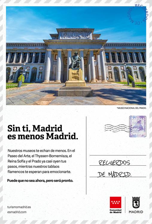 Campaña sin ti Madrid es menos Madrid