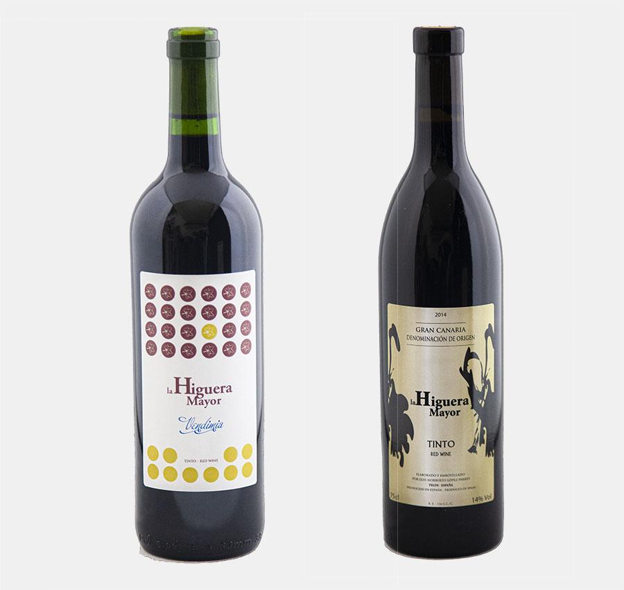 Los vinos de Higuera Mayor