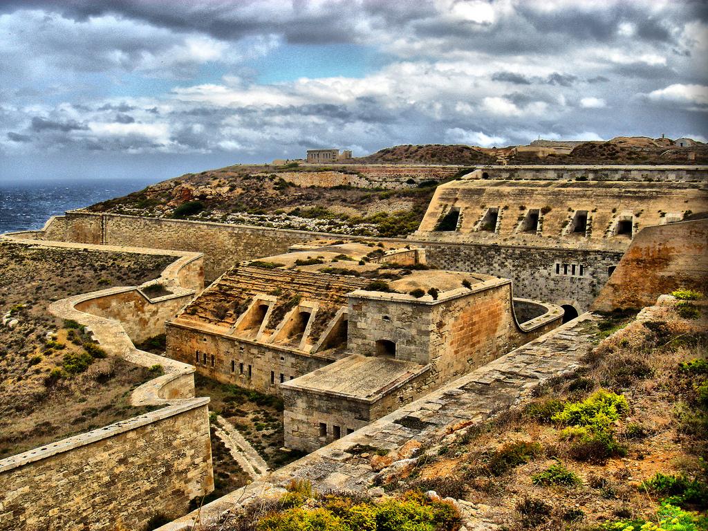 Menorca desde sus fortalezas, Fortaleza de la Mola