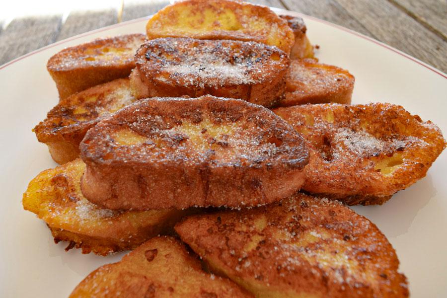 Dulces preferidos por españoles, Torrijas