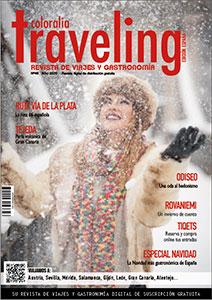 Portada revista Traveling 46 navidad 2020