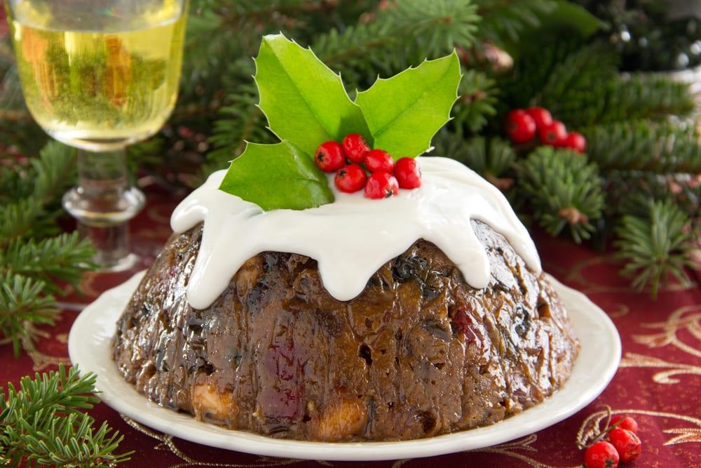 Pudding navideño con sorpresa
