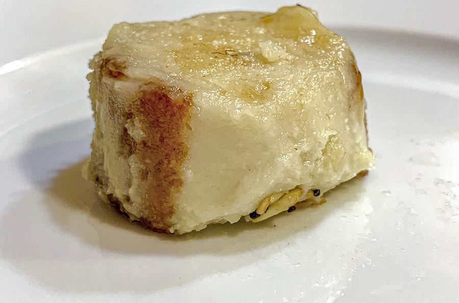 torrija de leche de cabra