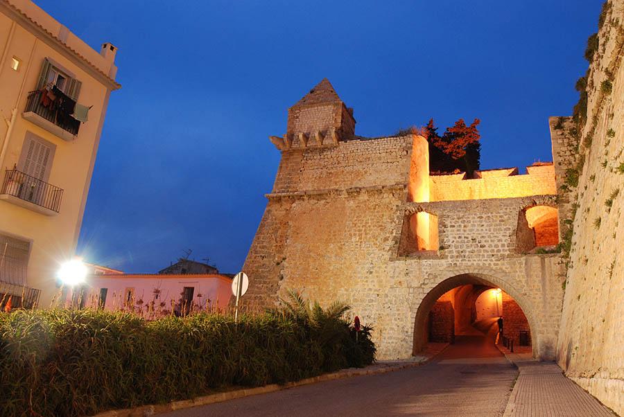 Baluarte de Sant Joan, en Dalt Vila