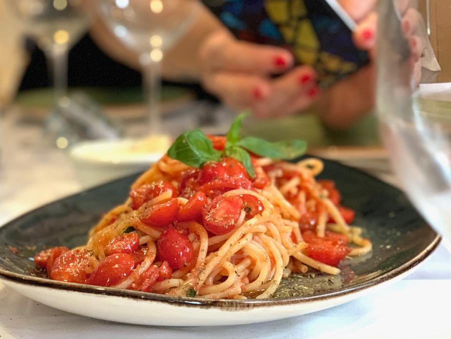 Spaguetti crudiaiola