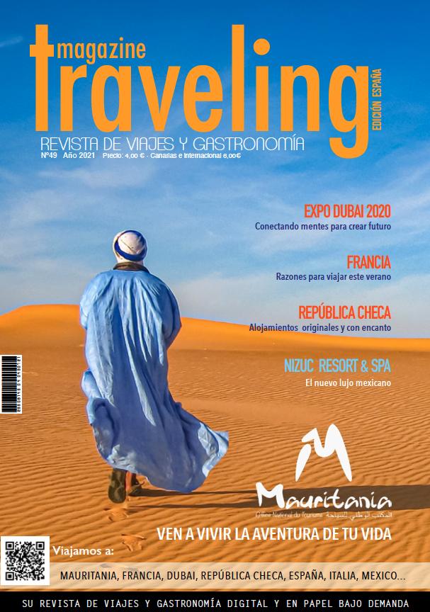 Portada Revista Traveling 49
