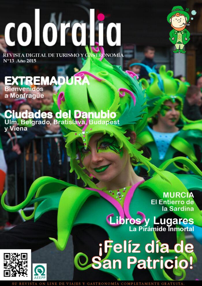 Portada Revista Traveling 13