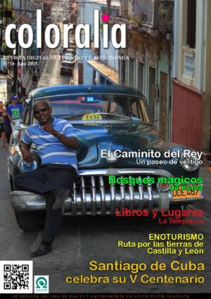 Portada Revista Traveling 16