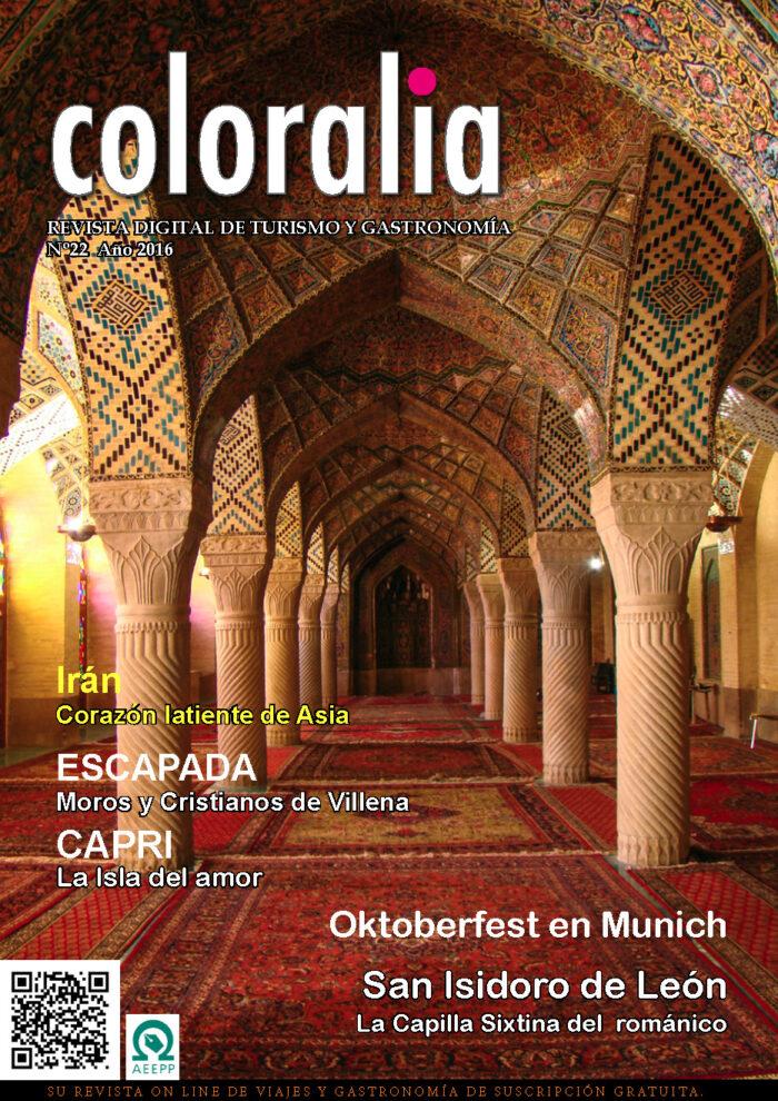 Portada Revista Traveling Nº22