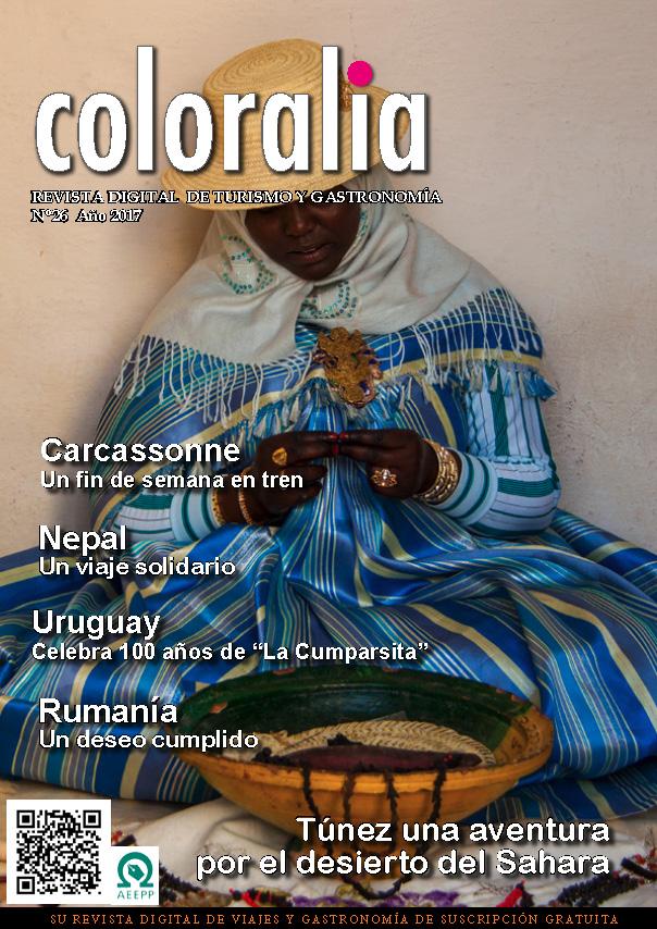 Portada Revista Traveling Nº26
