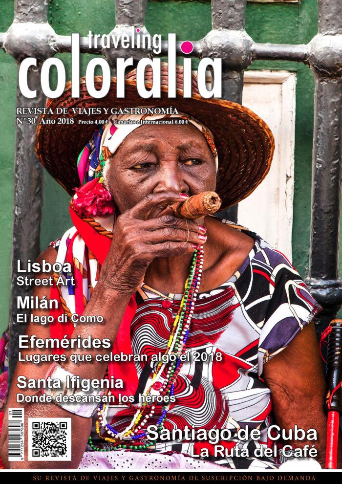 Portada Revista Traveling Nº30