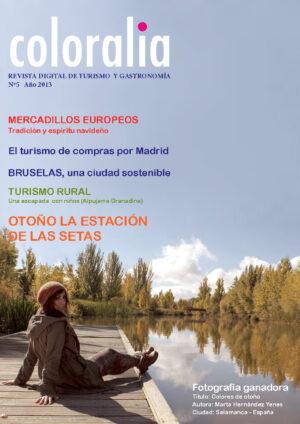 Portada Revista Traveling 5