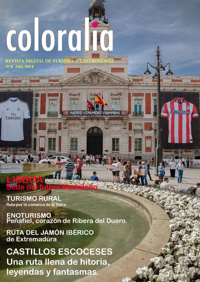 Portada Revista Traveling 8